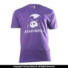 Inverted Gear Bearimbolo T-Shirt - Purple